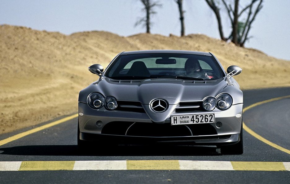 Mercedes SLR 722 Edition frontale