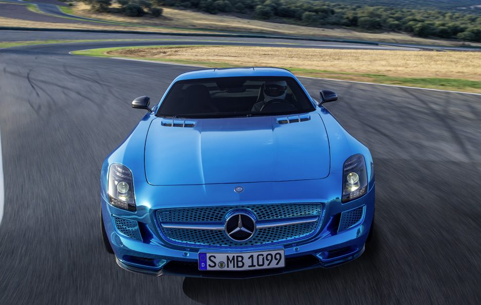 Mercedes SLS Electric Drive frontale