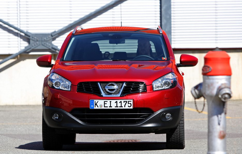 Nissan Qashqai+2 restyling frontale