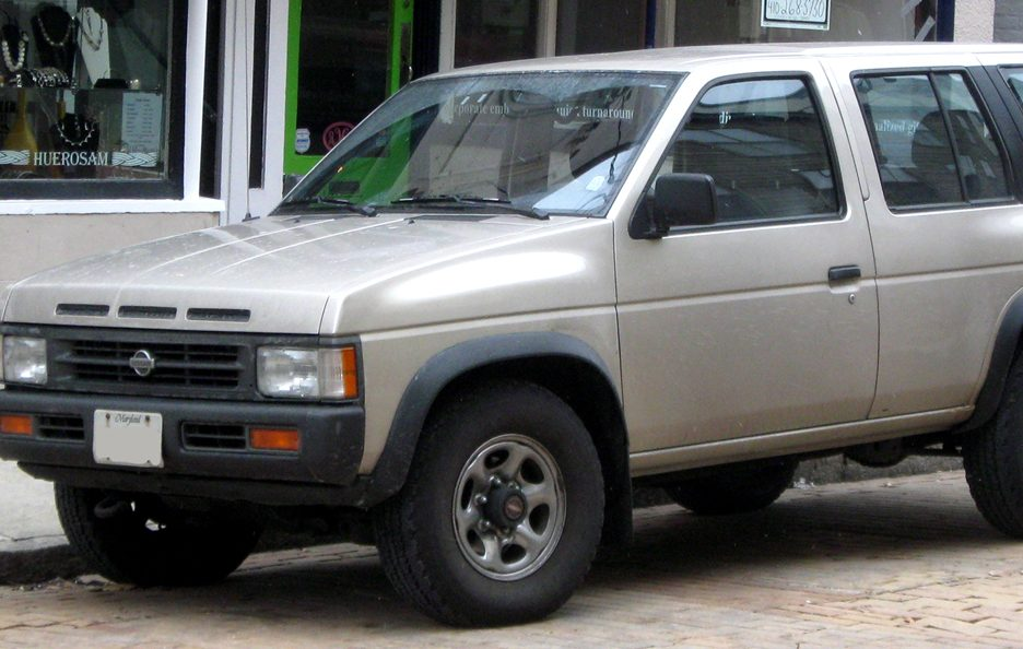 Nissan Terrano I restyling