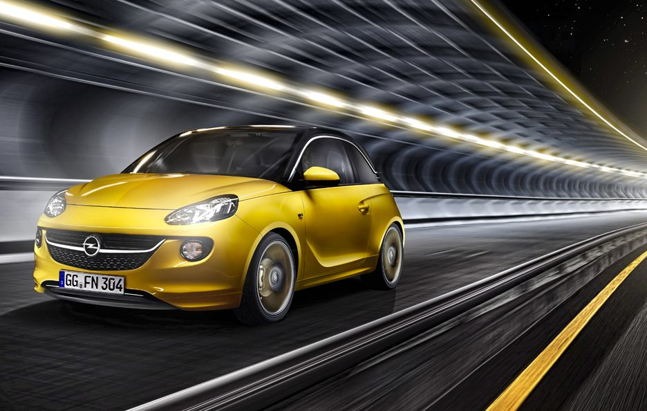 Opel Adam - Frontale in motion