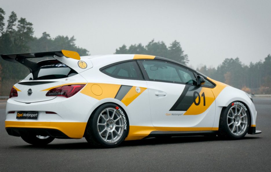 Opel Astra OPC Cup - Laterale