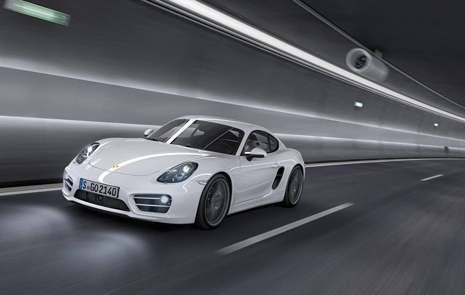Porsche Cayman 2013 - In motion