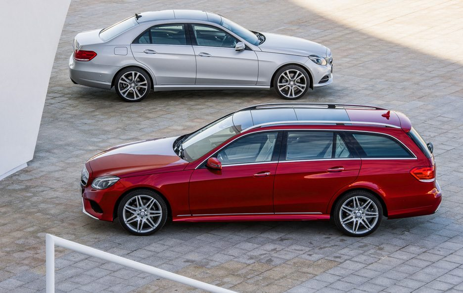 Mercedes Classe E station Restyling - Stile