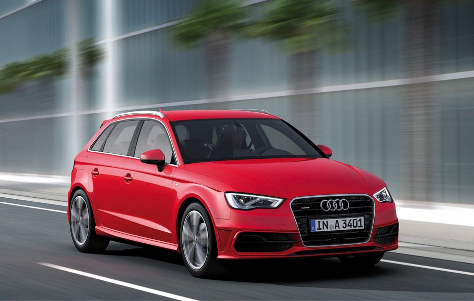 Audi RS6 Avant 2013 - Frontale in motion