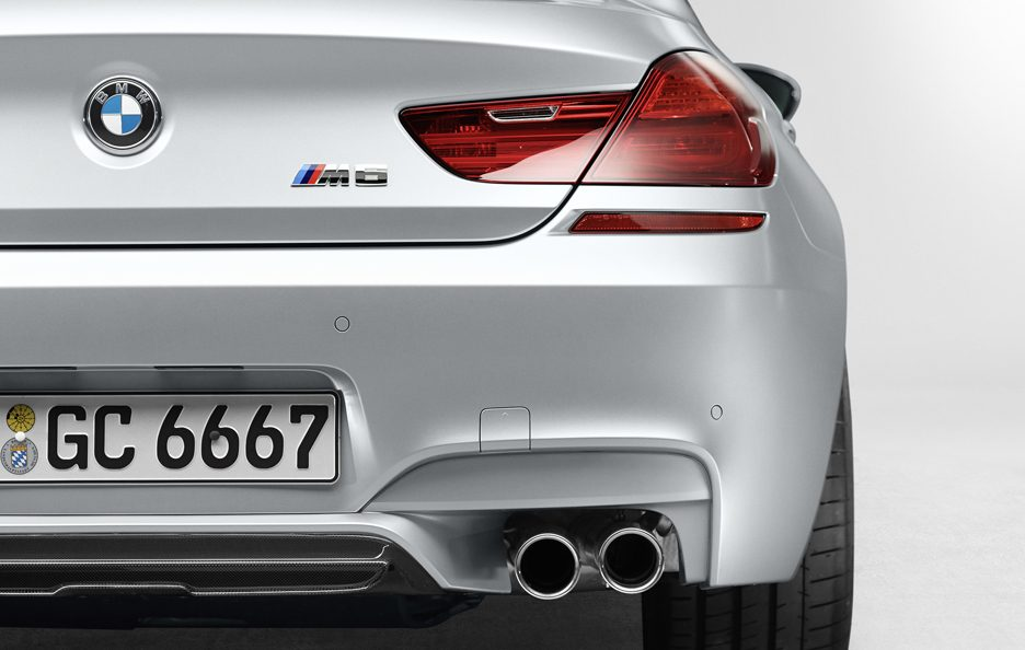 BMW M6 Gran Coupe - Coda
