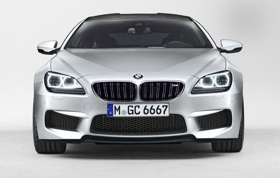 BMW M6 Gran Coupe - Frontale