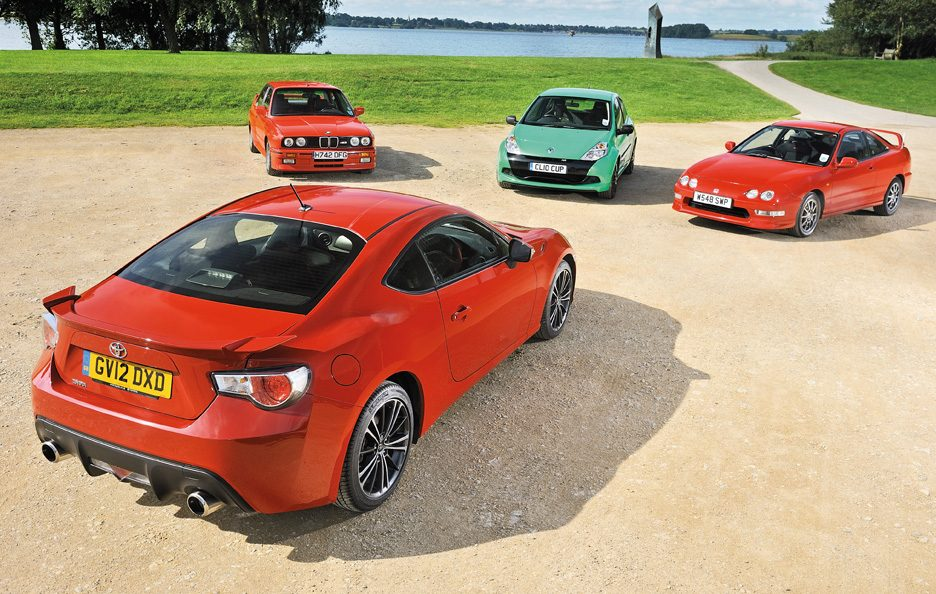 BMW M3 vs Honda Integra vs Renault Clio RS vs Toyota GT86
