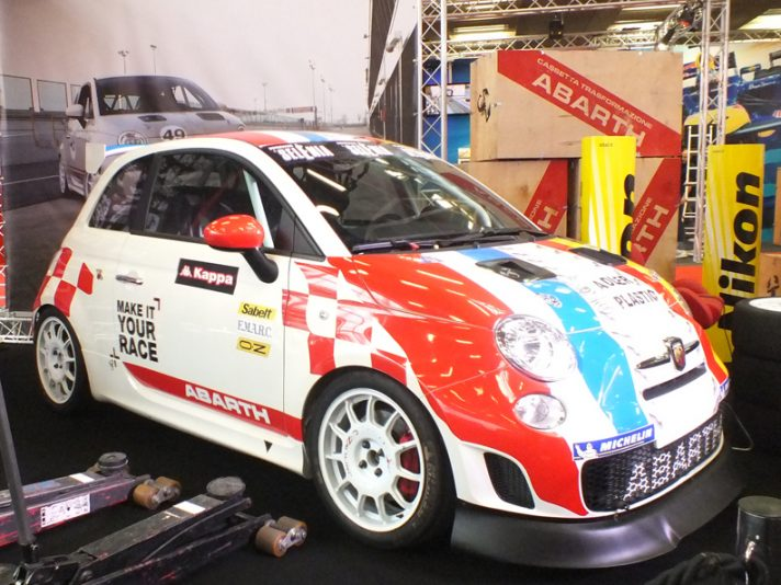 Abarth 500 Make it your race