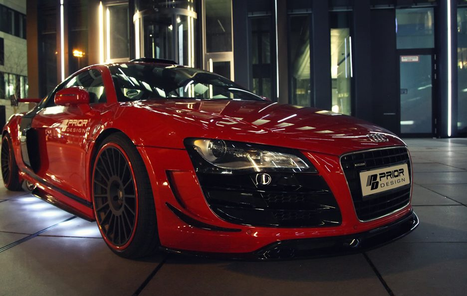 Audi R8 GT650 by Prior Design - Frontale