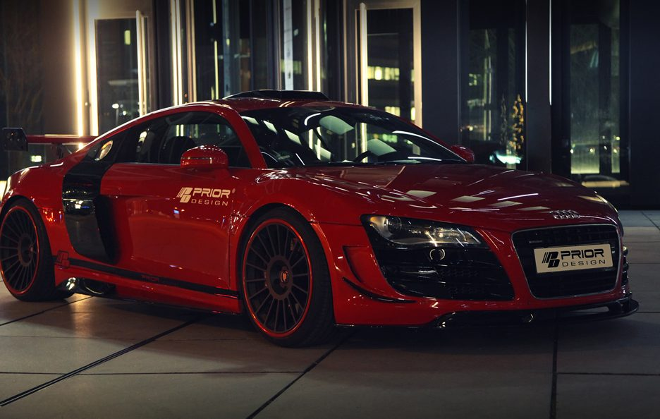 Audi R8 GT650 by Prior Design - Linee