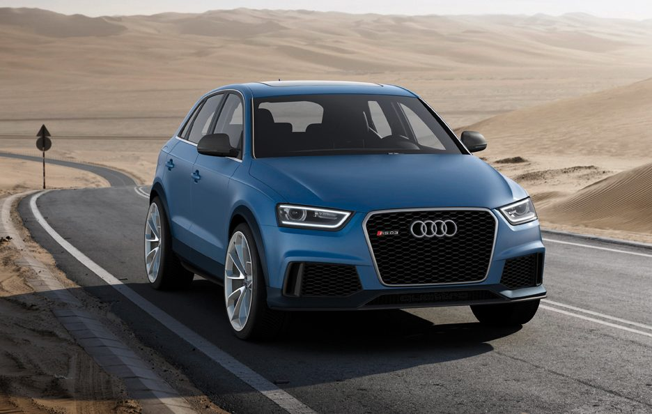 Audi RS Q3 - Frontale in motion