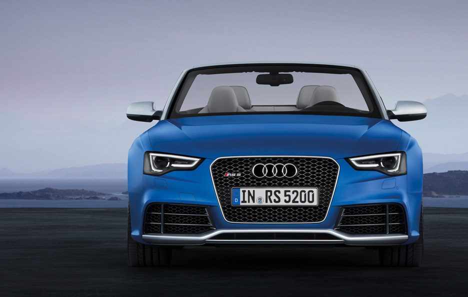 Audi RS5 Cabrio 2013 - Frontale