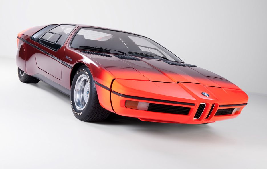 BMW Concept Car Turbo 1972 - 2007