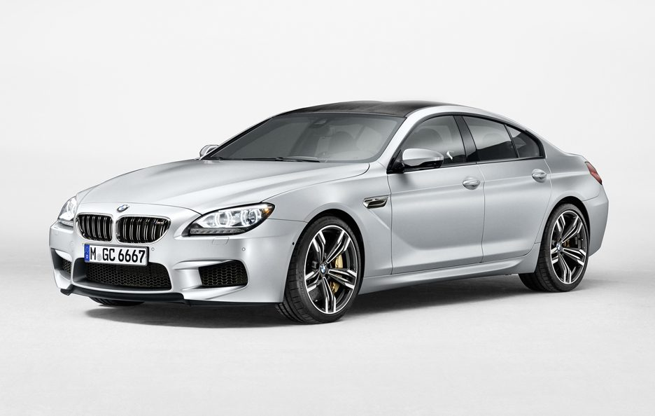BMW M6 Gran Coupe - Linee