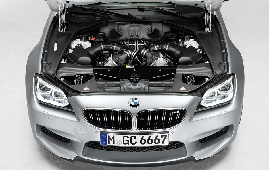 BMW M6 Gran Coupe - Motore