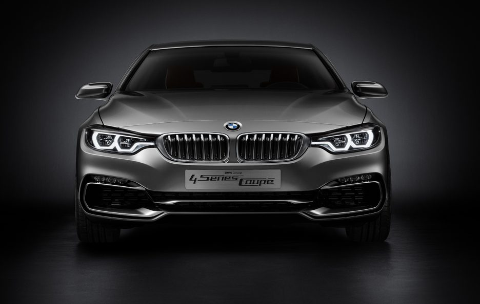 BMW Serie 4 Coupe Concept - Frontale