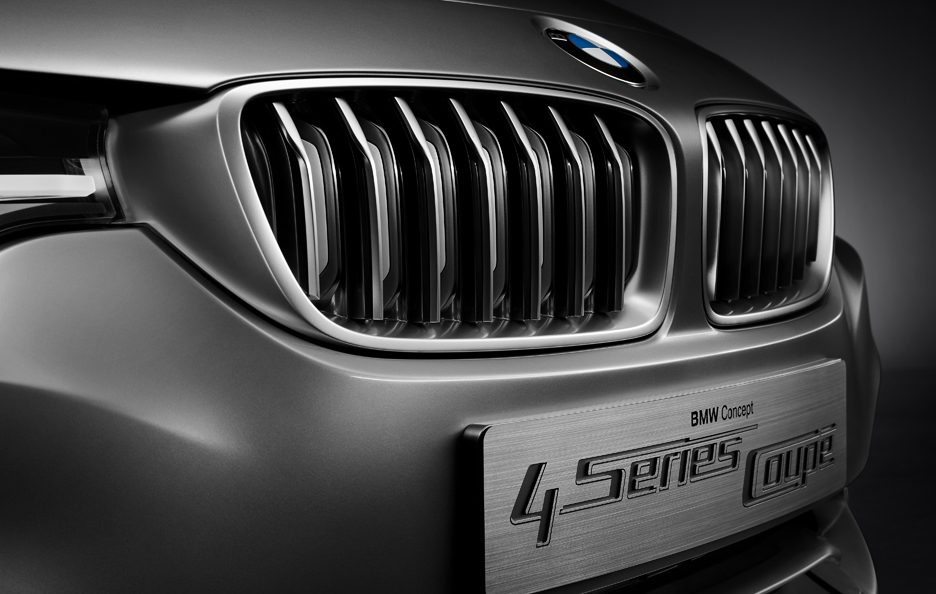BMW Serie 4 Coupe Concept - Griglia frontale
