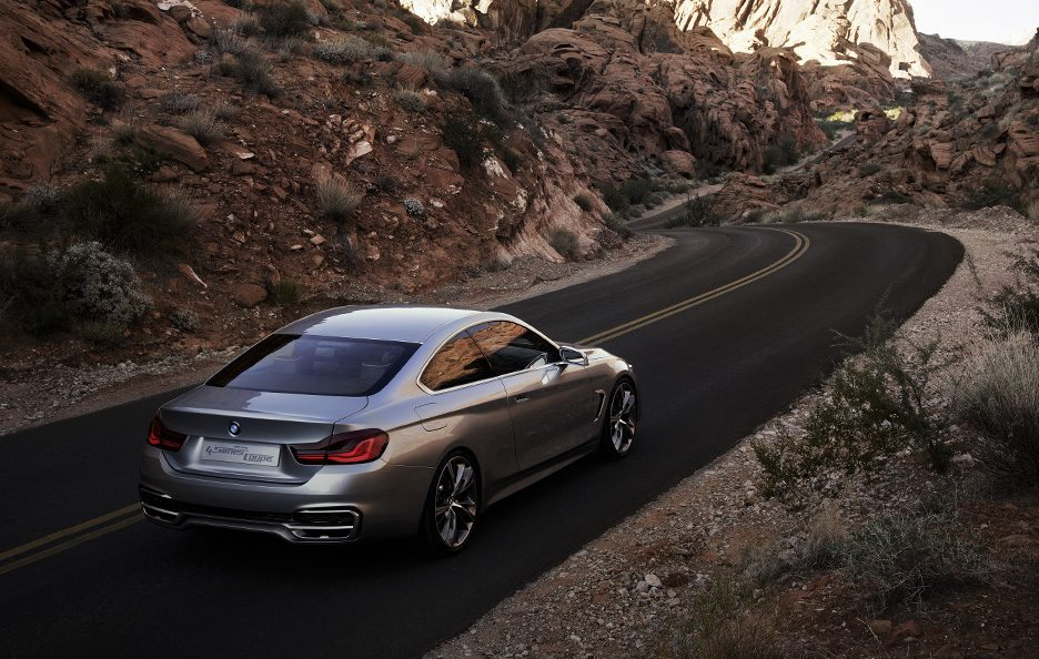 BMW Serie 4 Coupe Concept - In motion