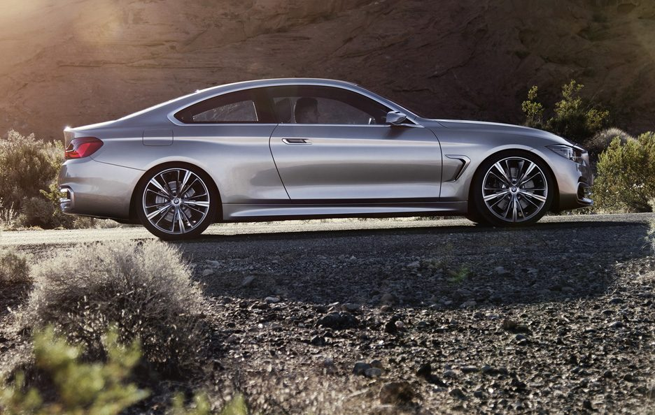BMW Serie 4 Coupe Concept - Laterale basso