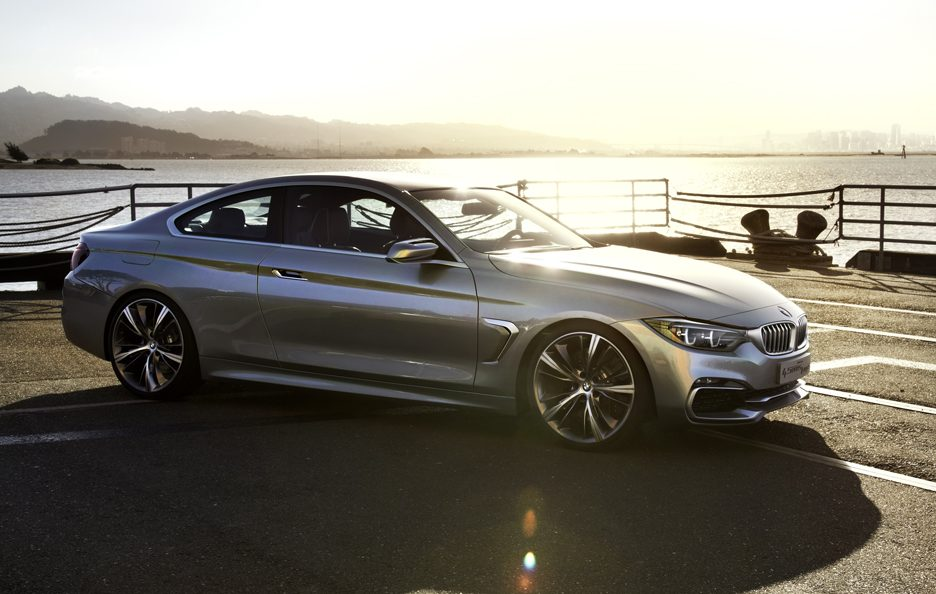 BMW Serie 4 Coupe Concept - Linee