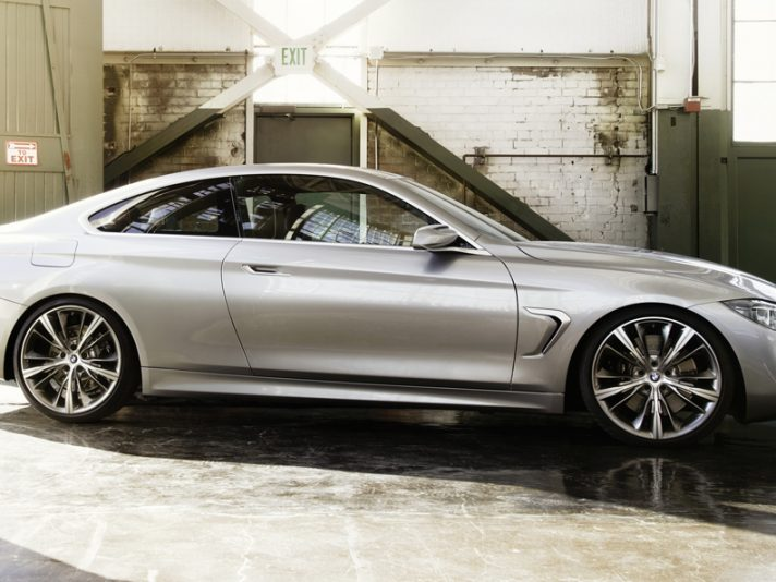 BMW Serie 4 Coupe Concept - Linee laterale