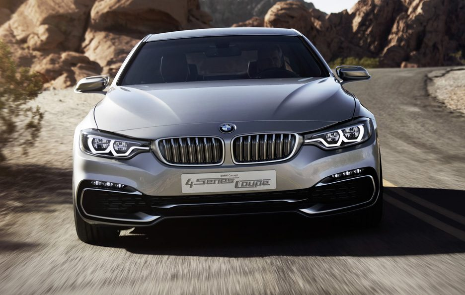 BMW Serie 4 Coupe Concept - Muso in motion