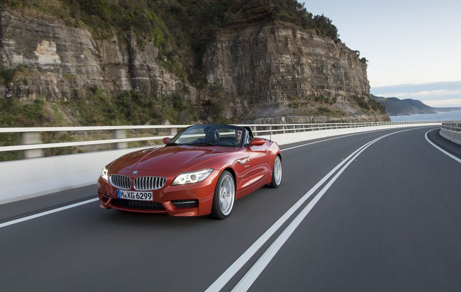 BMW Z4 2013 - Anteriore in motion
