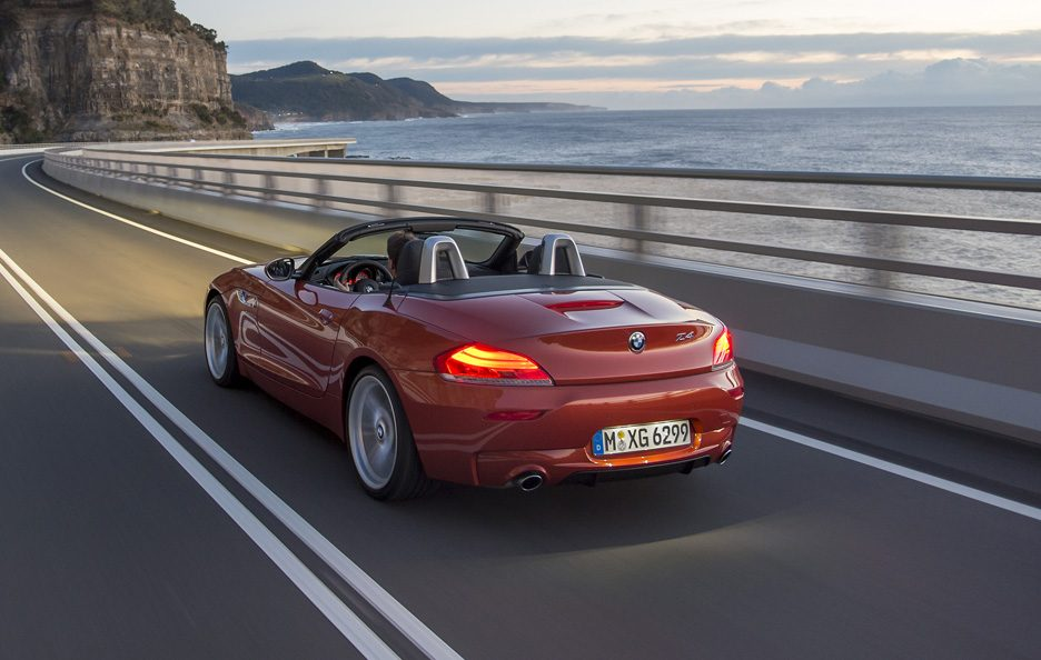 BMW Z4 2013 - Posteriore in motion