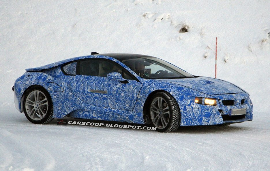 BMW i8 Hybrid Coupe - Frontale