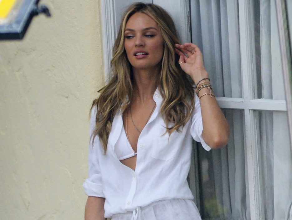Candice Swanepoel in posa
