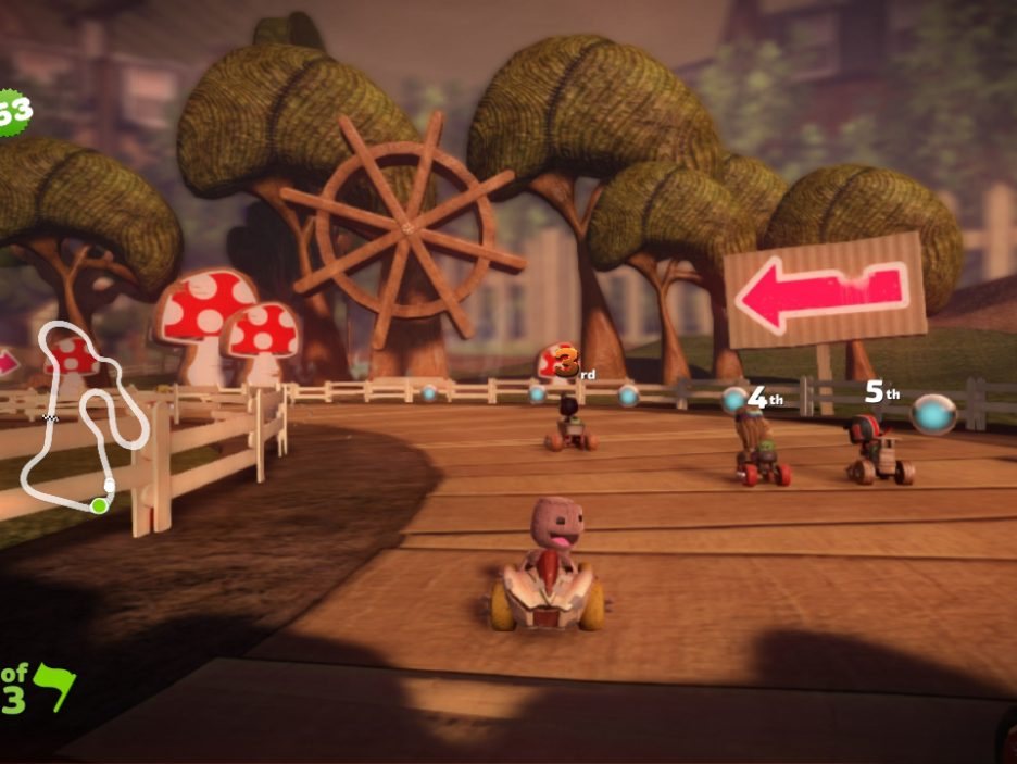 Little Big Planet Karting 10
