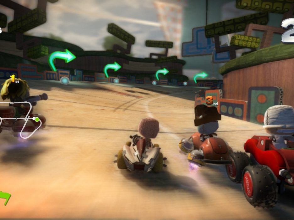 Little Big Planet Karting 8