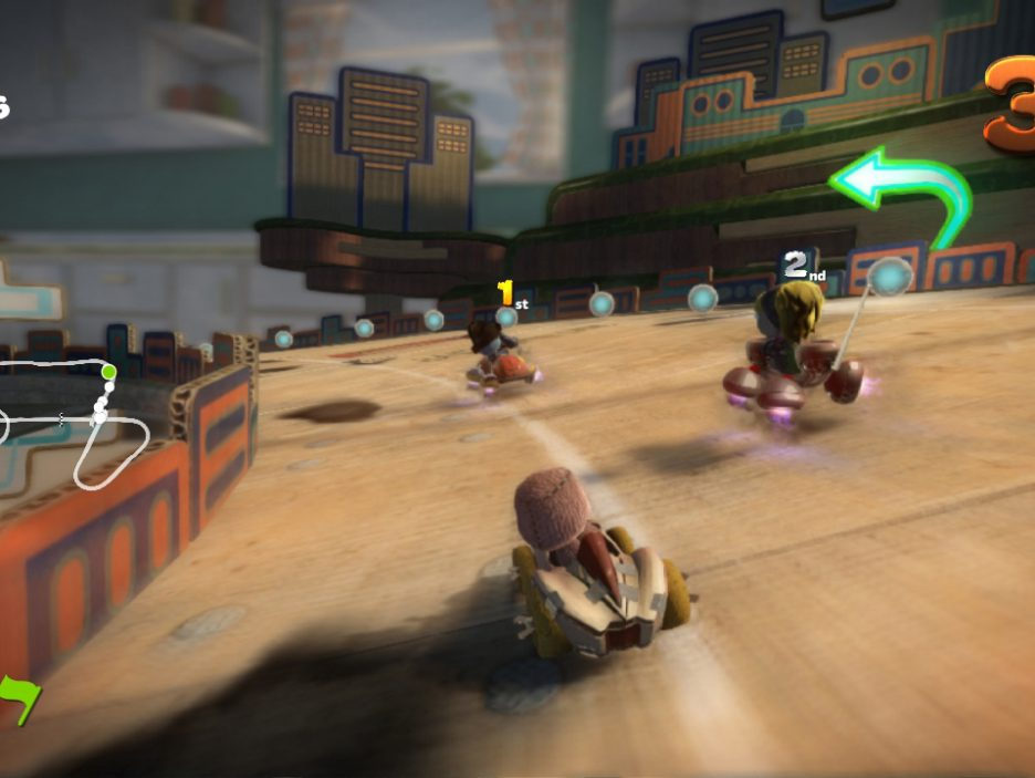 Little Big Planet Karting 9