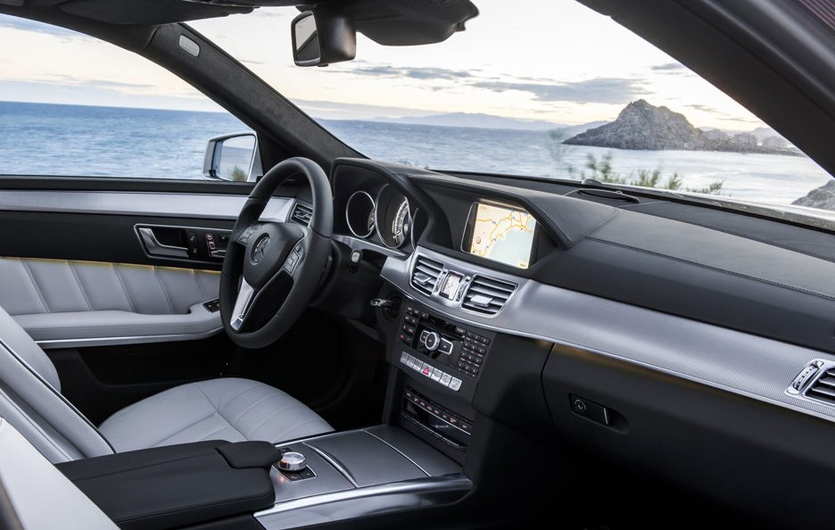 Mercedes Classe E Restyling - Abitacolo