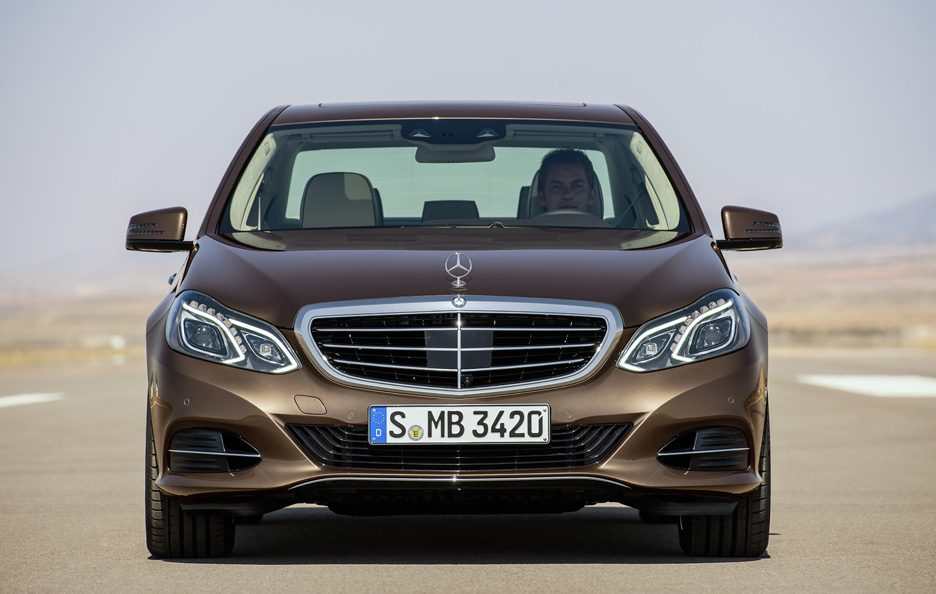 Mercedes Classe E Restyling - Frontale