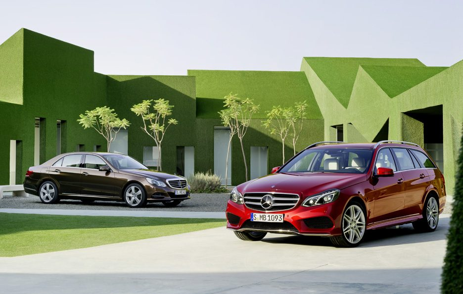 Mercedes Classe E & station Restyling