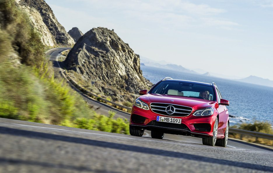 Mercedes Classe E station Restyling - Anteriore