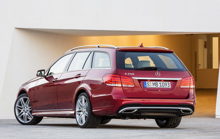 Mercedes Classe E station Restyling - Coda