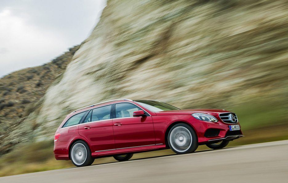 Mercedes Classe E station Restyling - Design