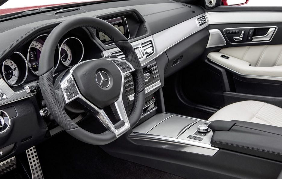 Mercedes Classe E station Restyling - Interni