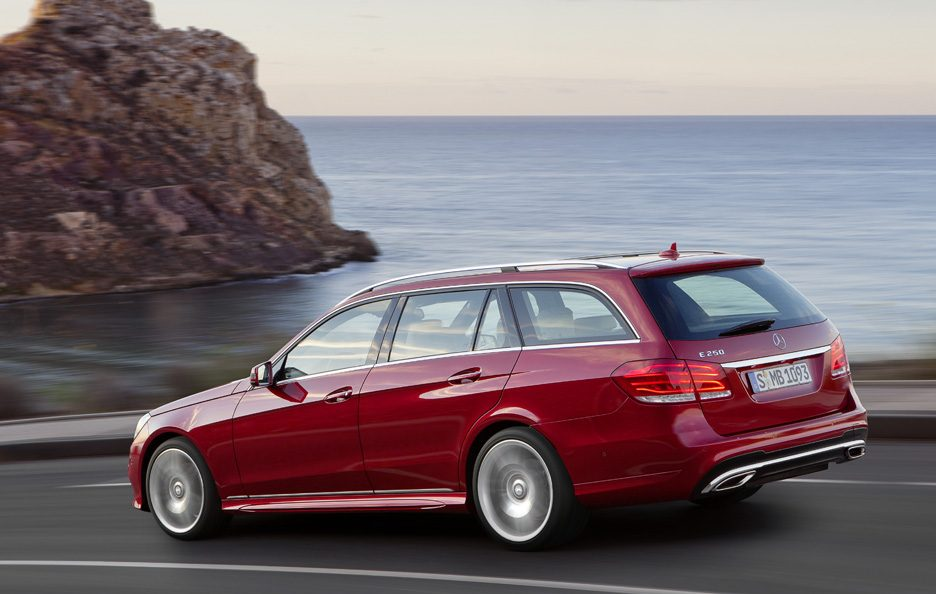 Mercedes Classe E station Restyling - Linea