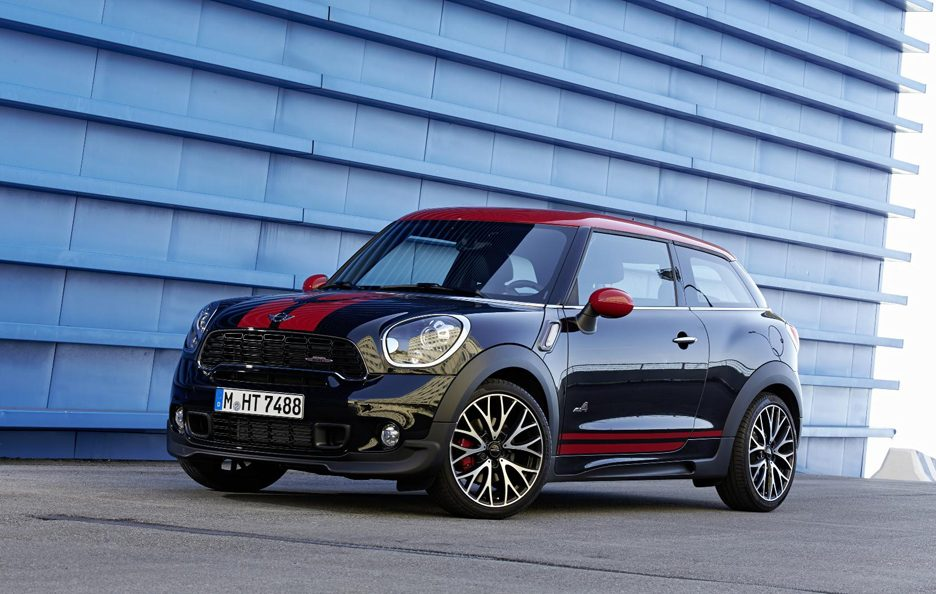 mini john cooper works paceman foto panoramauto. Black Bedroom Furniture Sets. Home Design Ideas