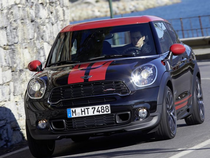 Mini John Cooper Works Paceman - Frontale