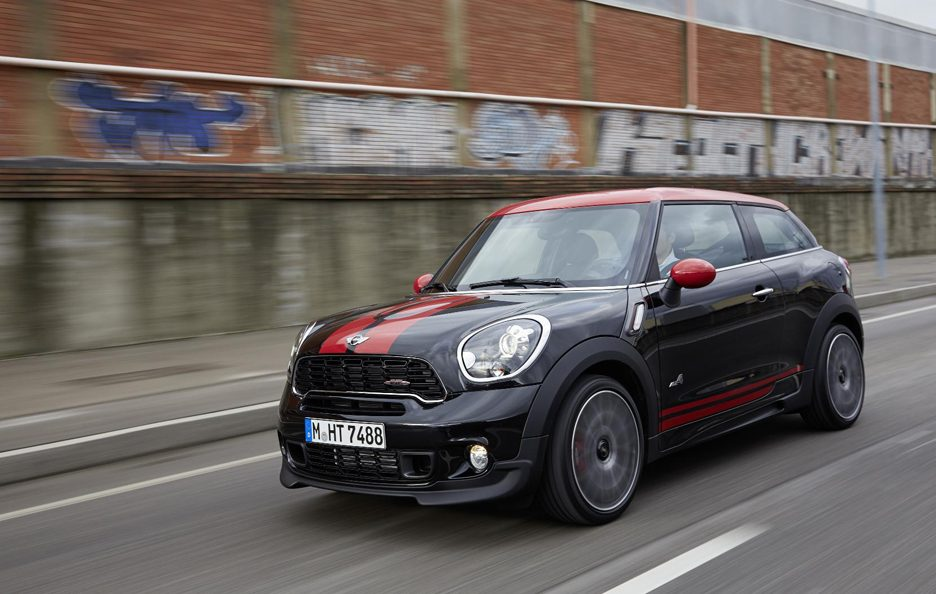 Mini John Cooper Works Paceman - In motion