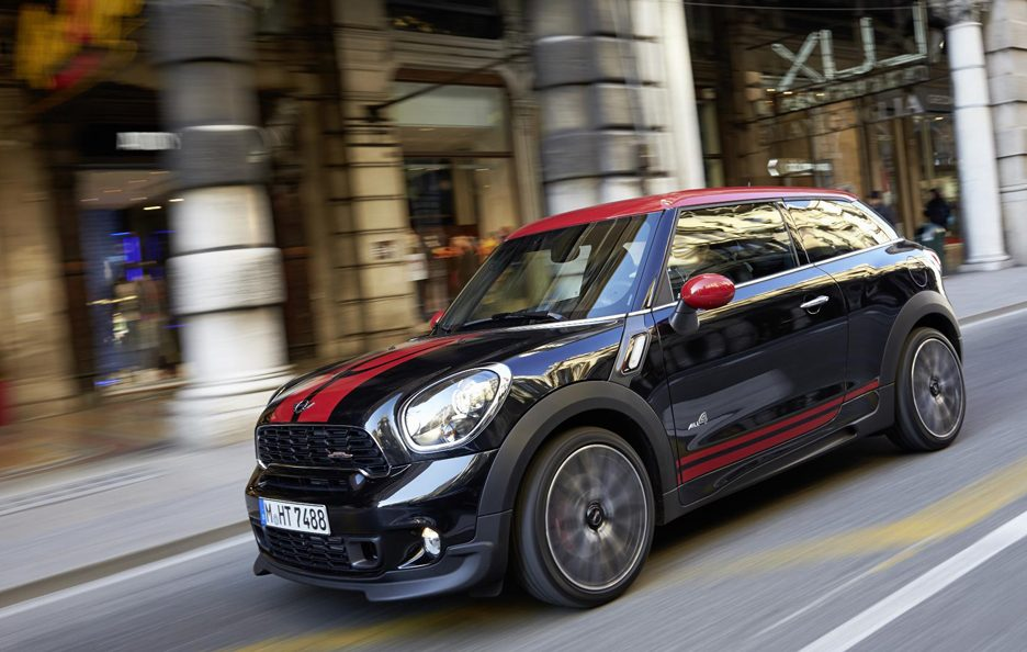 Mini John Cooper Works Paceman - Linee in motion