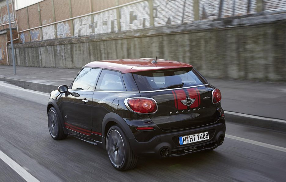 Mini John Cooper Works Paceman - Posteriore in motion