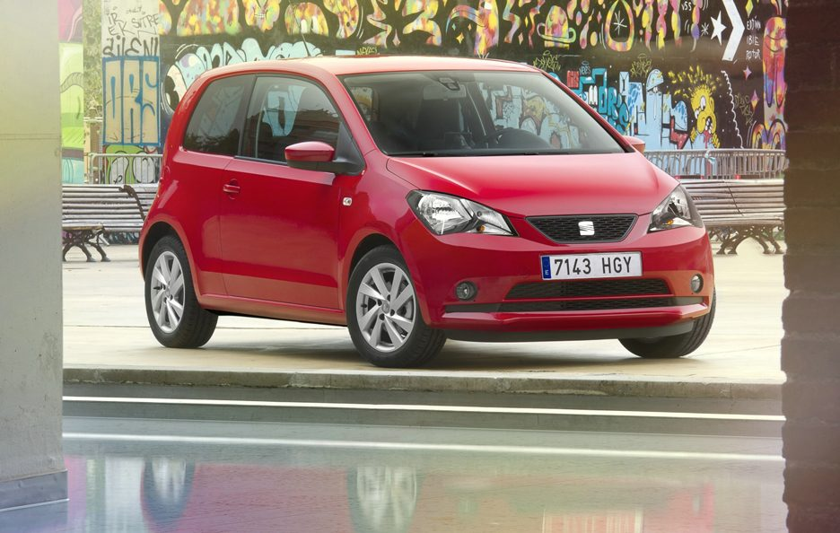 Seat Mii - Red - Panorama