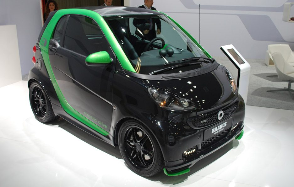Smart Brabus Electric Drive- Motor Show 2012