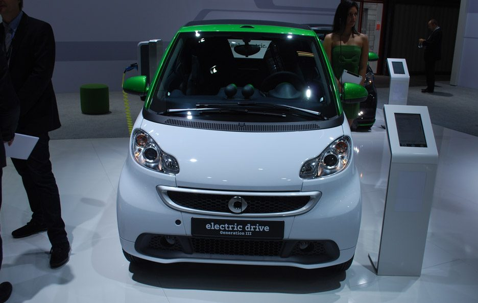 Smart Electric Drive- Motor Show 2012